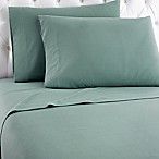 Micro Flannel® Solid King Sheet Set in Spruce