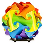 Danish Design LuvaLamp in Rainbow with Stand