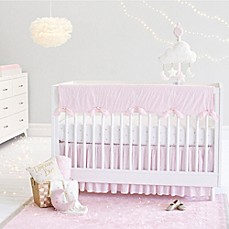 Just Born® Sparkle Crib Bedding Collection in Pink