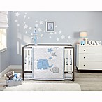 Zutano® Elefant Blau 4-Piece Crib Bedding Set