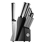 Ginsu Koden 14-Piece Cutlery Set with Black Storage Block