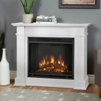 Real Flame® Devin Electric Fireplace in White