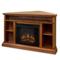 Real Flame® Churchill Electric Fireplace Media Console in Oak