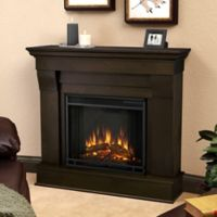 Real Flame® Chateau Electric Fireplace in Dark Walnut