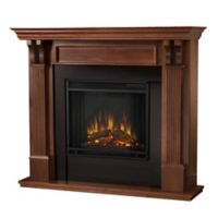 Real Flame® Ashley Electric Fireplace in Mahogany