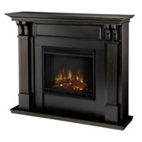Real Flame® Ashley Electric Fireplace in Blackwash