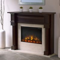 Real Flame® Berkeley Electric Fireplace in Dark Walnut