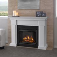 Real Flame® Hillcrest Electric Fireplace in White