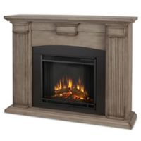 Real Flame® Adelaide Electric Fireplace in White