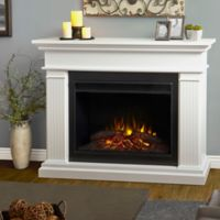Real Flame® Kennedy 55-Inch Freestanding Electric Fireplace in White