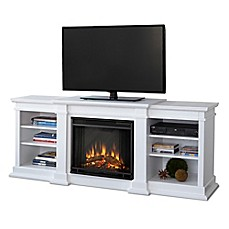 Real Flame Fresno Electric Fireplace And Media Center Bed Bath Beyond