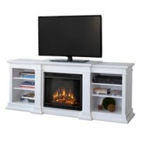 Real Flame® Fresno Electric Fireplace and Media Center in White