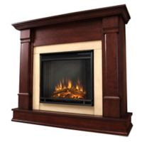 Real Flame® Silverton Electric Fireplace in Dark Mahogany