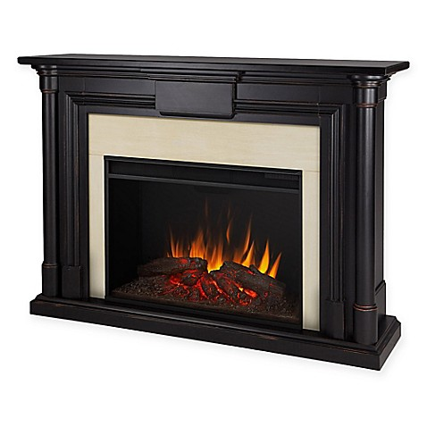 Real Flame Maxwell 60 Inch Freestanding Electric Fireplace In Blackwash
