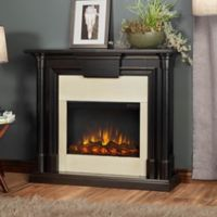 Real Flame® Maxwell Electric Fireplace in Blackwash