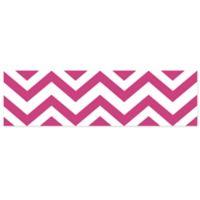 Sweet Jojo Designs Chevron Wall Paper Border in Pink/White