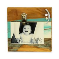 """Sweet Bird Smile Clip 8""""x8"""" Wood Photo Frame in Cool Breeze"""