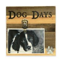 """Sweet Bird Dog Days 8""""x8"""" Picture Frame in Beige"""
