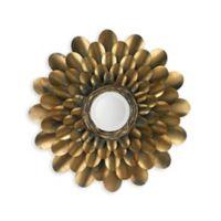 Jamie Young 36-Inch Bouquet Mirror in Antique Brass