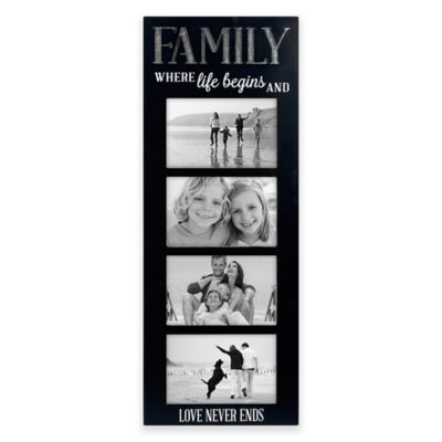 malden 4 inch x 6 inch family picture frame