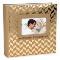 Malden® 160-Photo Moments Memories Album in Gold