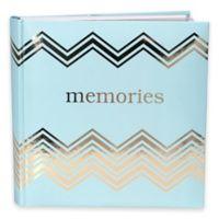 Malden® 160-Photo Memories Album in Light Blue
