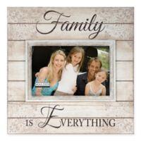 Malden® 4-Inch x 6-Inch Wooden Family Photo Frame in Cream