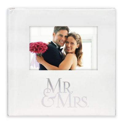 MaldenR Mr And Mrs Photo Album