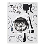 Malden® 3-Inch x 3-Inch Baby Bump Metal Photo Frame in Silver