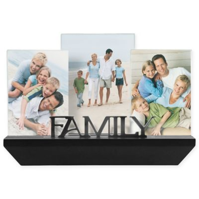 malden 3 photo family shelf picture frame