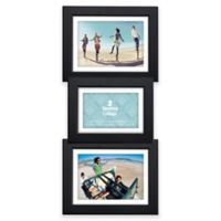Malden® 3-Opening Collage Picture Frame in Black