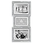 Malden® 3-Opening Collage Picture Frame in Grey