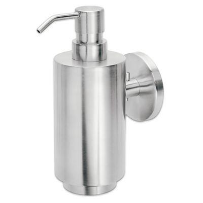 Blomus Primo Wall Mounted Soap Dispenser in Silver. Buy Wall Mounted Soap Dispensers from Bed Bath  amp  Beyond