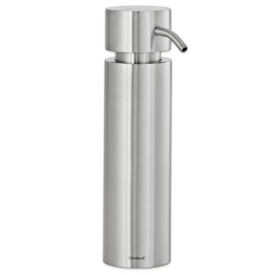 Blomus Duo Brushed Stainless Steel Soap Dispenser
