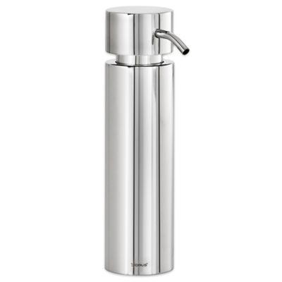 Stainless Steel Bathroom Soap Dispenser. Blomus Duo Polished Stainless Steel Soap Dispenser