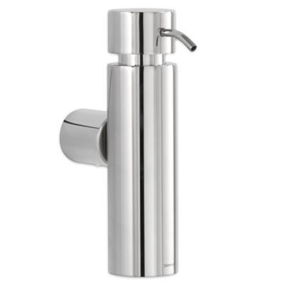 Blomus Duo Wall Mounted Polished Stainless Steel Soap Dispenser