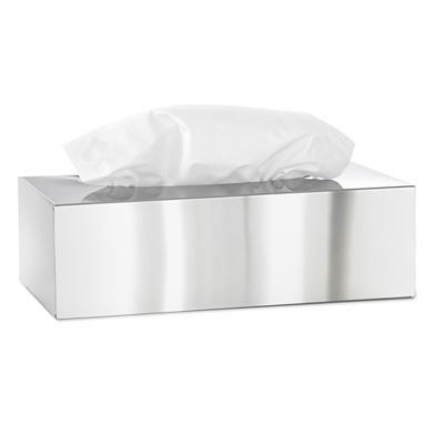 Blomus Nexio Stainless Steel Boutique Tissue Box Cover in Polished Silver  sc 1 st  Bed Bath u0026 Beyond & Buy Silver Tissue Box Covers from Bed Bath u0026 Beyond Aboutintivar.Com