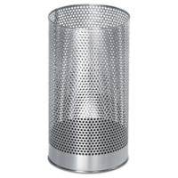 Buy Stainless Steel Bathroom Wastebasket Bed Bath Beyond
