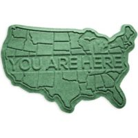 Weather Guard™ USA 2-Foot x 3-Foot Door Mat in Light Green