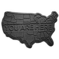Weather Guard™ USA 2-Foot x 3-Foot Door Mat in Charcoal