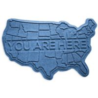 Weather Guard™ USA 2-Foot x 3-Foot Door Mat in Medium Blue