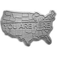 Weather Guard™ USA 2-Foot x 3-Foot Door Mat in Grey