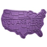 Weather Guard™ USA 2-Foot x 3-Foot Door Mat in Purple