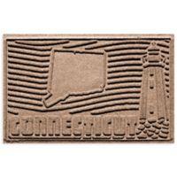 Weather Guard™ Connecticut 2-Foot x 3-Foot Door Mat in Medium Brown