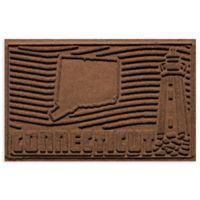 Weather Guard™ Connecticut 2-Foot x 3-Foot Door Mat in Dark Brown
