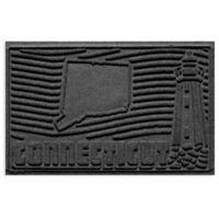 Weather Guard™ Connecticut 2-Foot x 3-Foot Door Mat in Charcoal