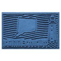 Weather Guard™ Connecticut 2-Foot x 3-Foot Door Mat in Medium Blue