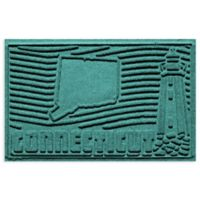 Weather Guard™ Connecticut 2-Foot x 3-Foot Door Mat in Aquamarine
