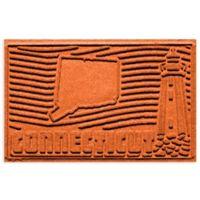 Weather Guard™ Connecticut 2-Foot x 3-Foot Door Mat in Orange