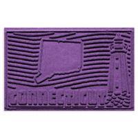 Weather Guard™ Connecticut 2-Foot x 3-Foot Door Mat in Purple